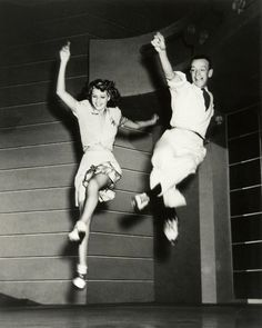 DANCE! Rita Hayworth, Fred Astaire