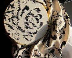 Embellishing the Artisan Flower Print from Fall 2013