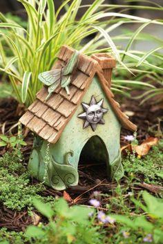 Celestial Toad House/ fairy houses