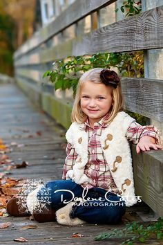 Children's photography, Darlene Cates Photography, Girls Portraits, Outdoor Portraits I want this outfit for B next year!