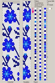 Galeri kamçı-shnurikov örme ve onlara desenleri | biser.info