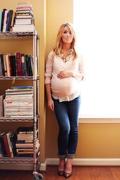 {#maternity street style}