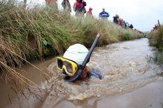 Bog snorkelling!
