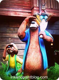 Splash Mountain entrance, Walt Disney World hotels in Walt #Disney World: http://holipal.com/hotels/