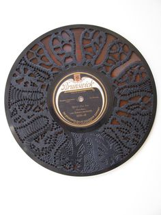 Carved 78's by Scott Marr