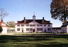 Mount Vernon, George Washington's Home on the Potomac River