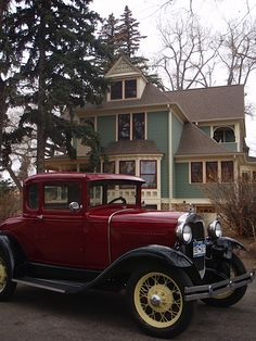 """Something Old"" at your wedding - This precious, old getaway car"