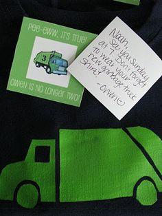 trash truck shirt