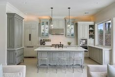 M&M Show House 2013 - transitional - kitchen - new orleans - Maria Barcelona Interiors, LLC