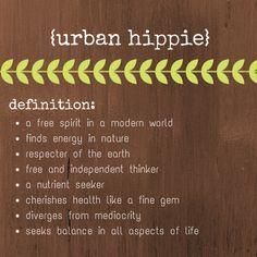 Becoming an Urban Hippie