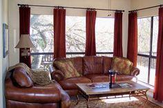 Comfy living room in unit A116