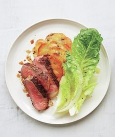 Get the recipe for Strip Steak With Crispy Gratin-Style Potatoes.