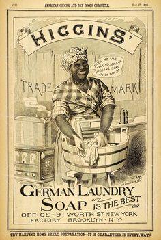 black americana advertisement