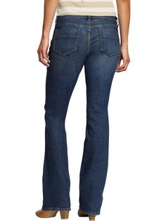 My favorite jeans. Can't beat the price...perfect for hippy chicks. Old Navy | Women's The Sweetheart Boot-Cut Jeans