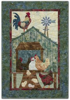 PineNeedles.com : Home to Roost quilt by McKenna Ryan