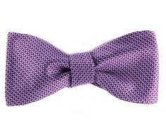 #Purple #Mens #Bow #Tie