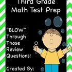"""Let's get ready to """"BLOW"""" through math standardized testing with this great review packet. It includes 150 multi-choice questions, teacher directio..."""