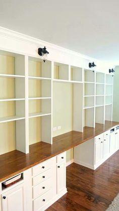 Ana white built in plans