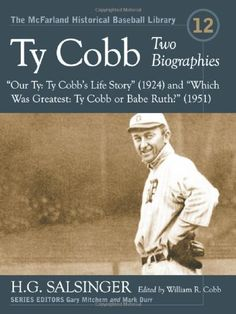 an introduction to the life of ty cobb the greatest baseball player 1945 - babe ruth calls ty the greatest player ever to don spikes--new york, aug (introduction to ty cobb: ty cobb, the greatest of all baseball players.