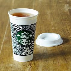 White Cup Contest Reusable Cup, 16 fl oz. $7.95 at store.starbucks.com