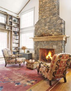 Love the fireplace!!!