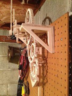 Wooden Gear Clock