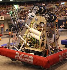 FIRST Robotics Regional hosted at RHIT.