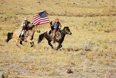 """The cowboy is a patriot."" -- Cowboy Proverb"