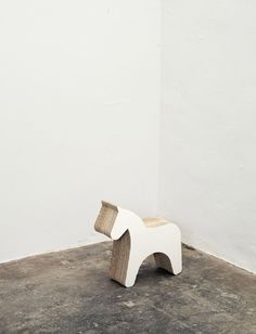 """""""Papp 2"""" chair by Alex Hellum.  Made from pressed cardboard."""
