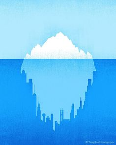 Negative Space Illustrations