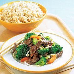 Beef and Broccoli Stir-fry Recipe | MyRecipes.com