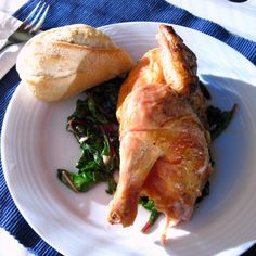 Thomas Keller's Roast Chicken on the Grill (recipe adapted from epicurious)