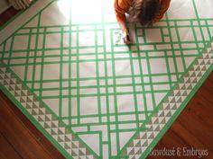 paint thing, linoleum rug, area rugs