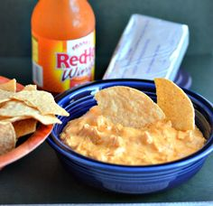 Buffalo Chicken Crockpot Dip