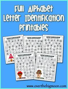 printable letters dots, school, letter recognition, alphabet letters, full alphabet