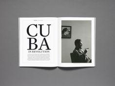 Bilan LUXE, magazine by Nicolas Zentner, via Behance