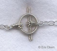 toggl clasp, wire jewelri, mio solament, clasp tutori, diy jewelri