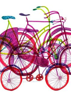 Bikes and biking / Biciclete | atelieruldeprint.ro — Designspiration