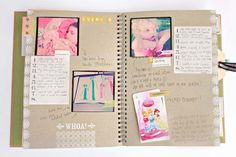 Smashbooks - daily scrapbooks (lots of examples on this site)
