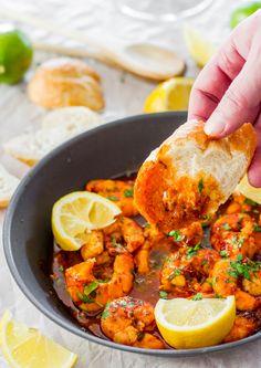 Spicy New Orleans Shrimp | Jo Cooks