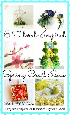 Six Floral-Inspired Spring Craft Ideas - Project Inspire{d}