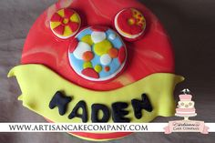 mickey mouse clubhouse mini fondant toodles birthday cake by ArtisanCakeCompany, via Flickr