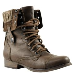 must have a pair of miltary steve madden boots