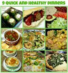 theFoodette - Adventures in my Kitchen: 9 Quick and Healthy Dinners