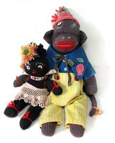 sock monkey~