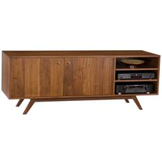Mid+Century+Modern++Media+Credenza++Concept+Four+by+RadiusStyle,+$1820.00