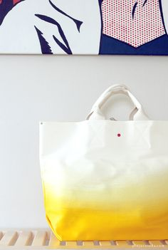 dipped ecological bag from Pinjacolada