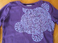 Bleach Batik Tee Shirts
