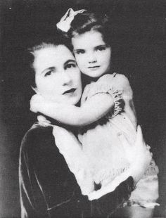 Jackie and her mother, Janet Auchincloss