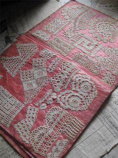 Crochet Sample Book- Nellie Deane Age 12 1910-11